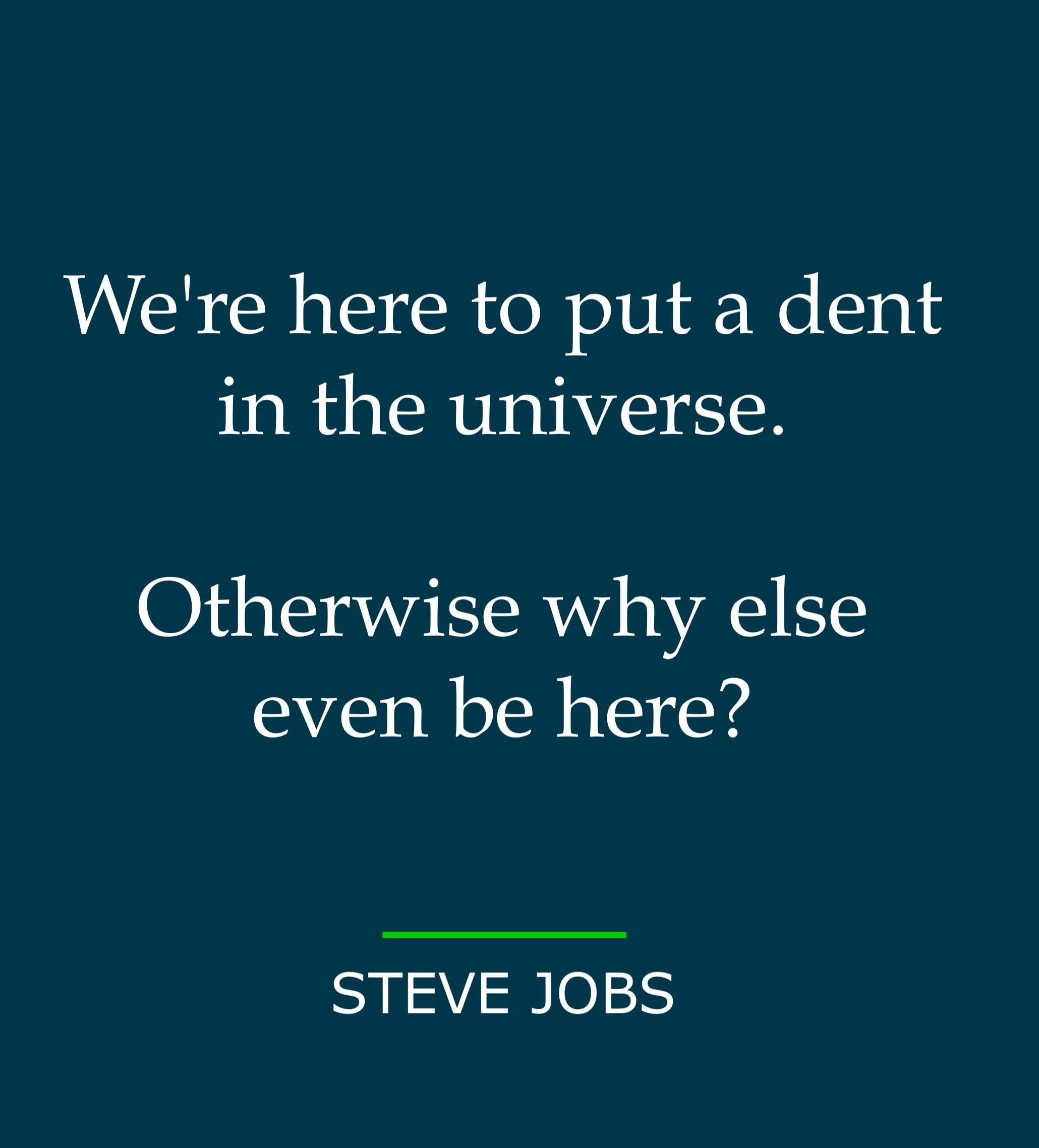 Creativity Steve Jobs